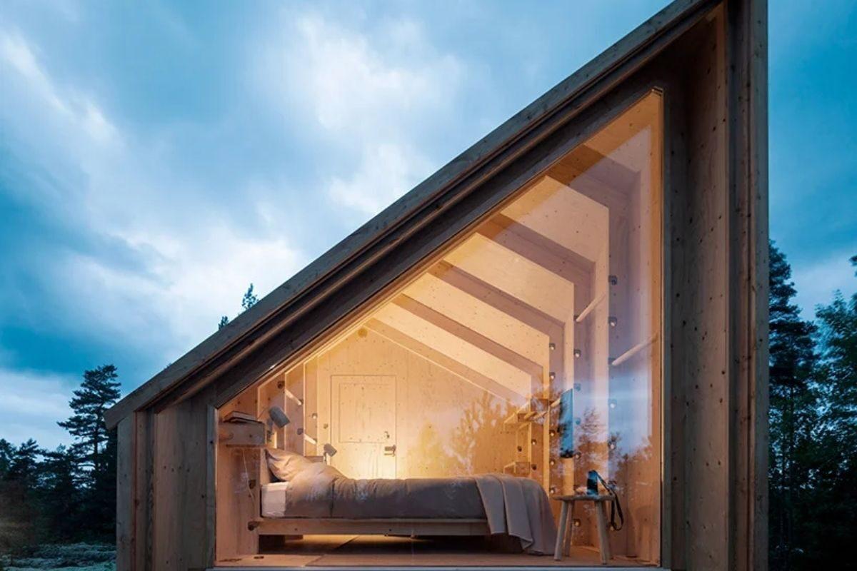 cabana de madeira modular foto 2