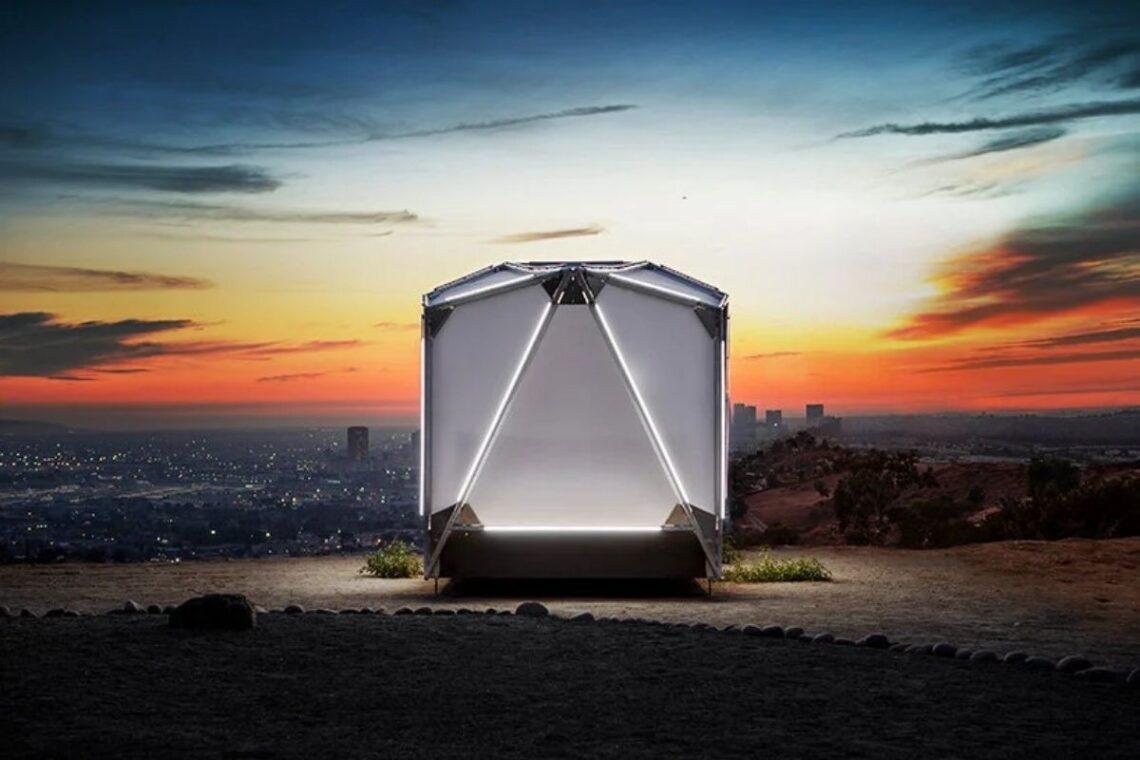 cabana futurista