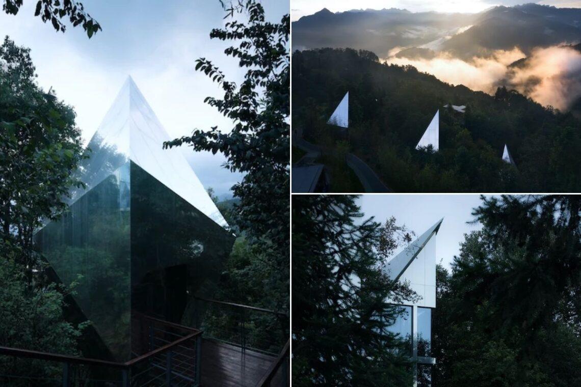 cabanas futuristas