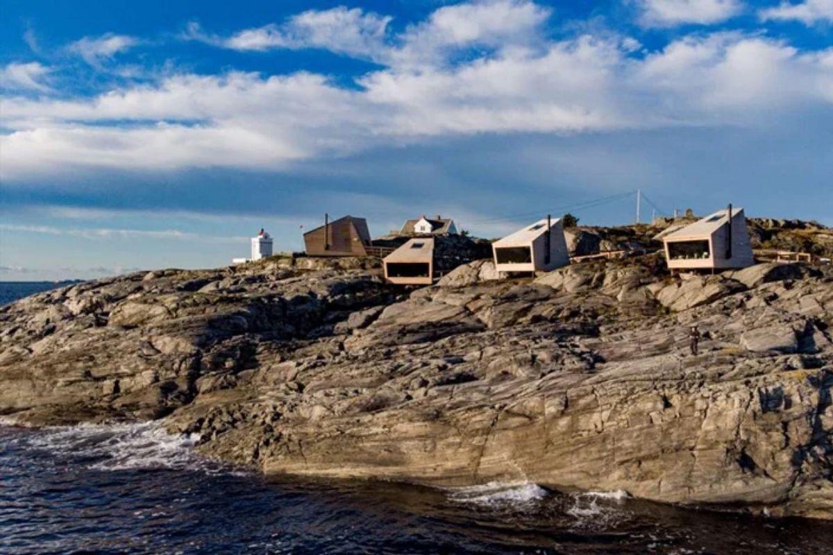 cabanas únicas com vista para o mar foto 3
