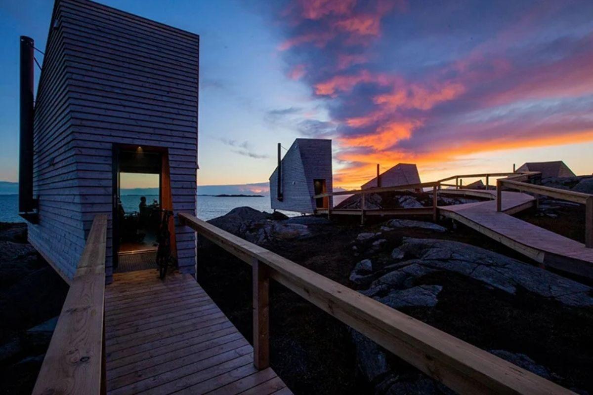 cabanas únicas com vista para o mar foto 5