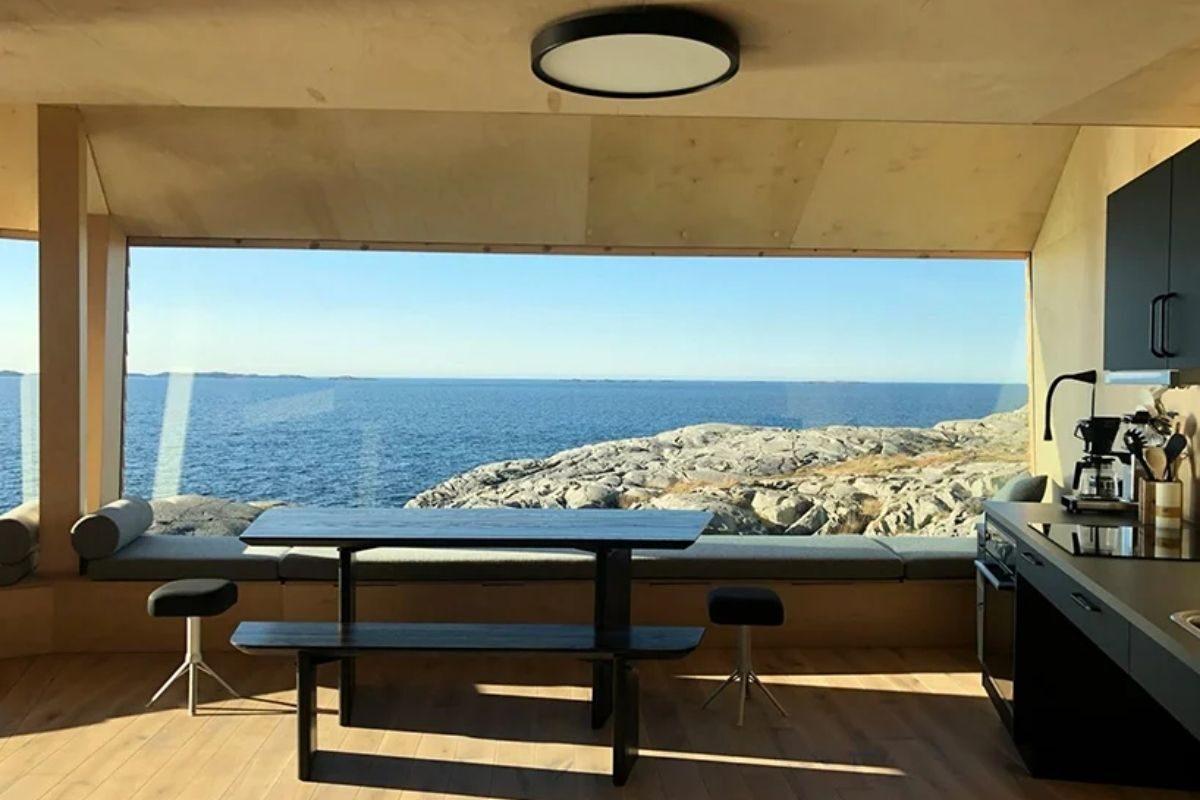 cabanas únicas com vista para o mar foto 9