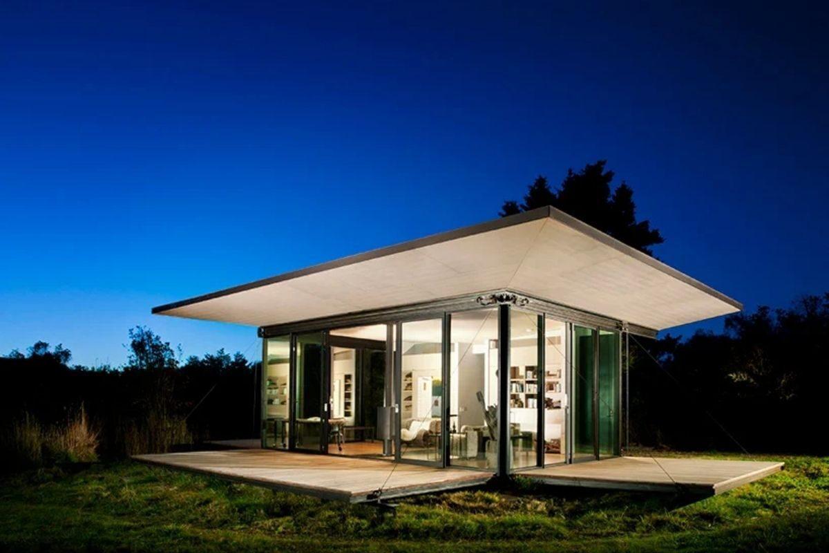 casa de madeira conversíveis foto 2