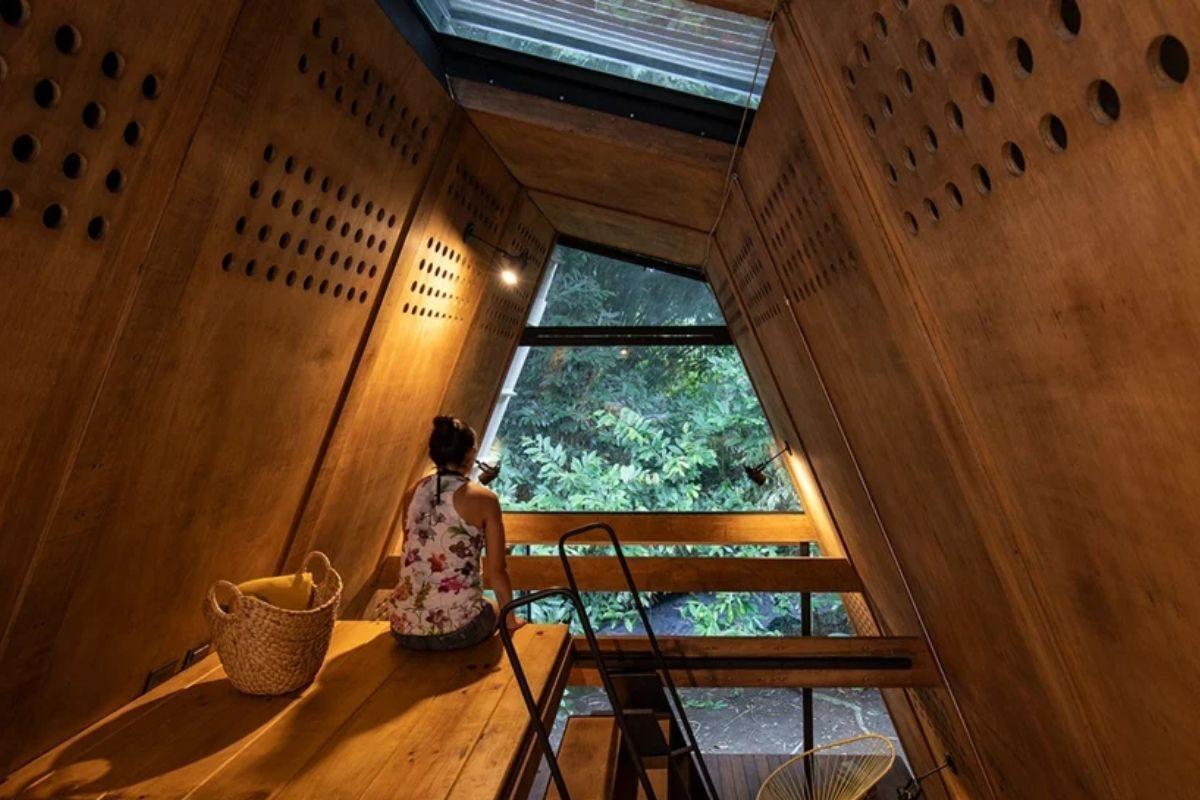 chalé de madeira sustentável foto 7