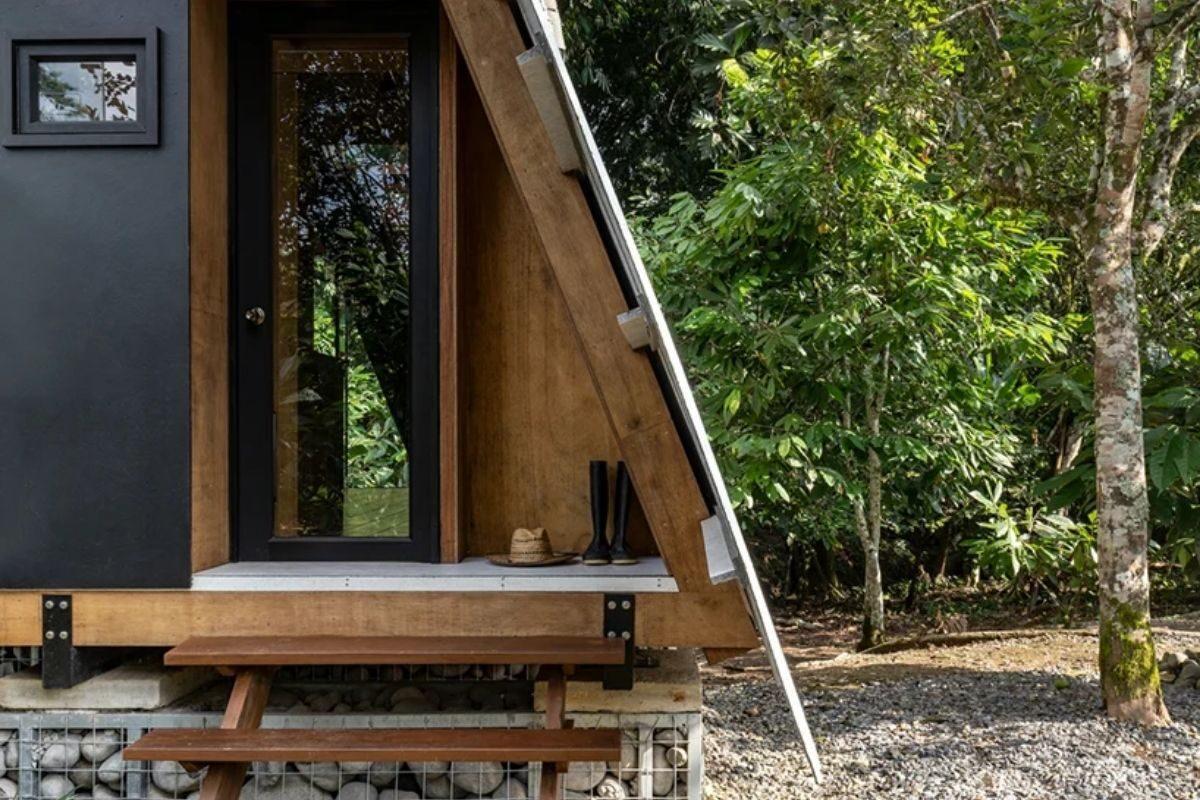 chalé de madeira sustentável foto 8