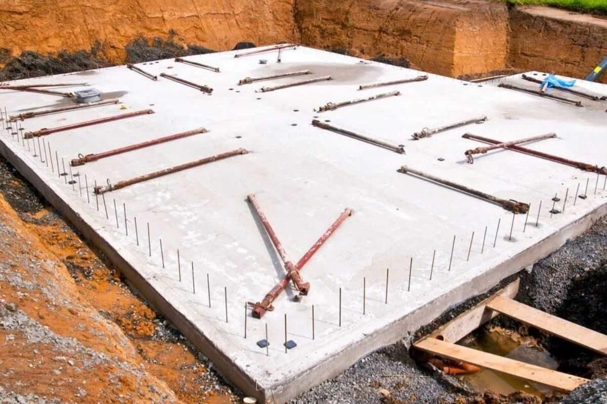 fundação radier para steel frame e light steel frame