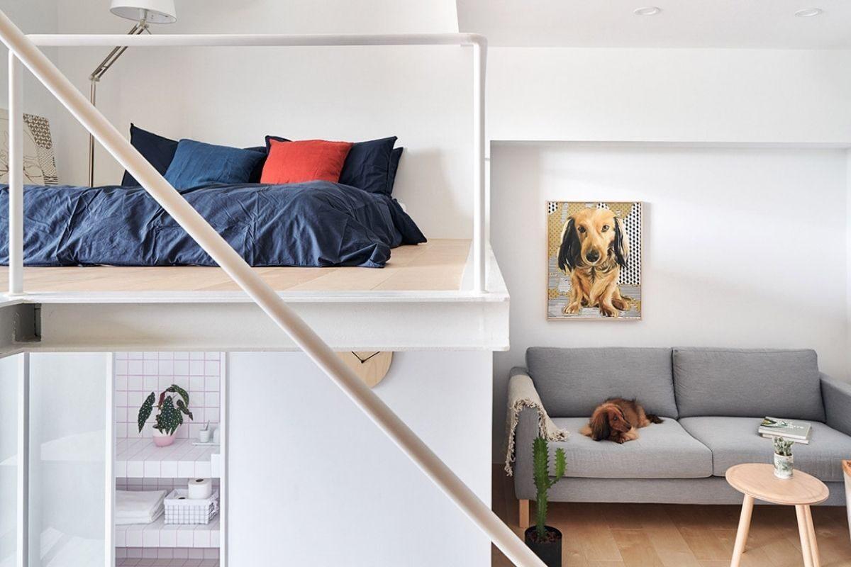 mezanino no quarto