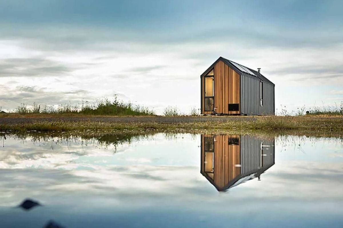 mini-casa moderna foto 1