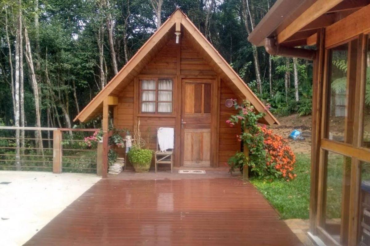 mini casa pré-fabricada