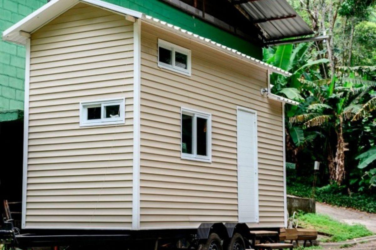 Mini Casa Tiny Brasil parte externa