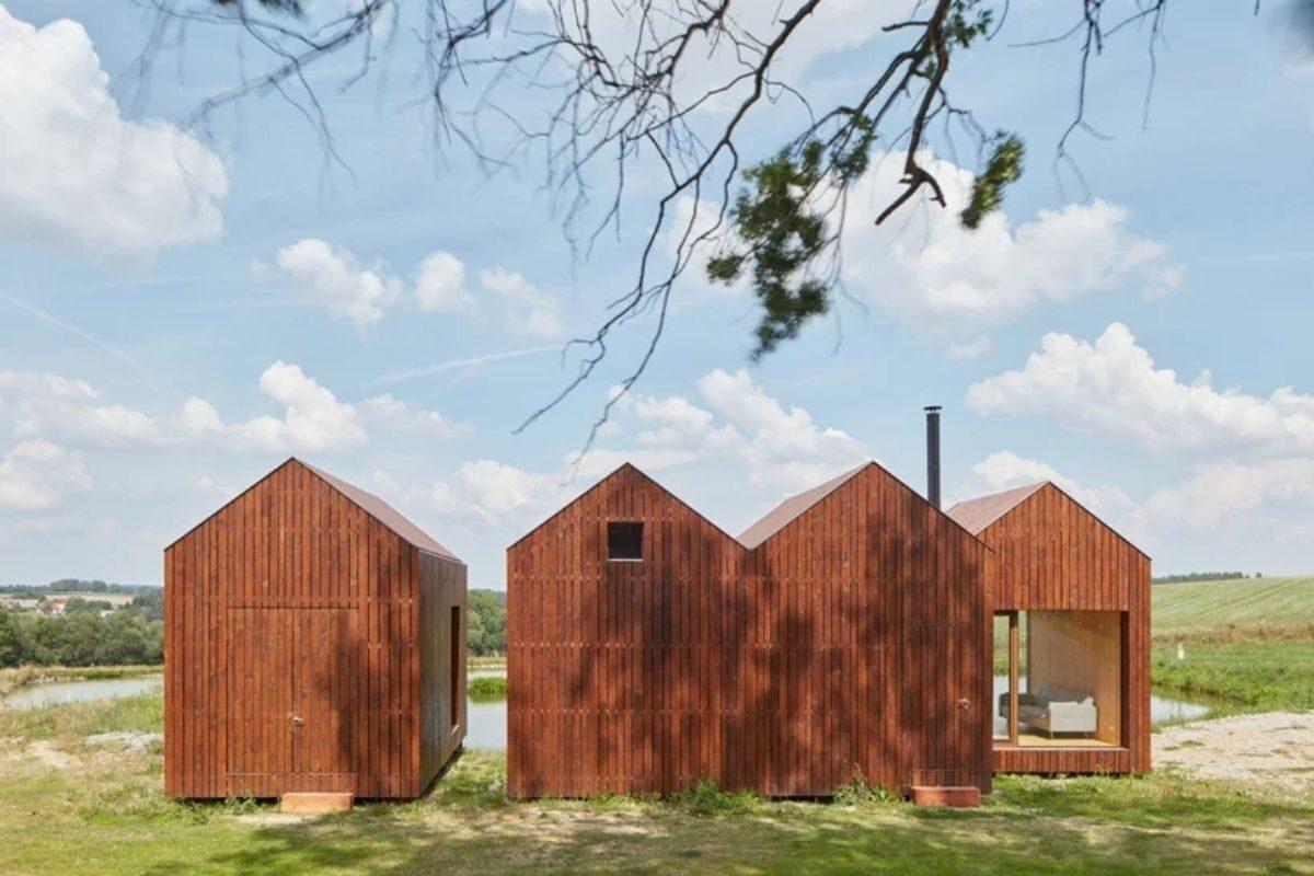 mini-casas de madeira foto 1