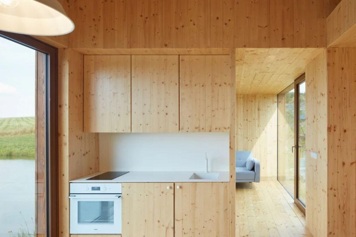 mini-casas de madeira foto 2