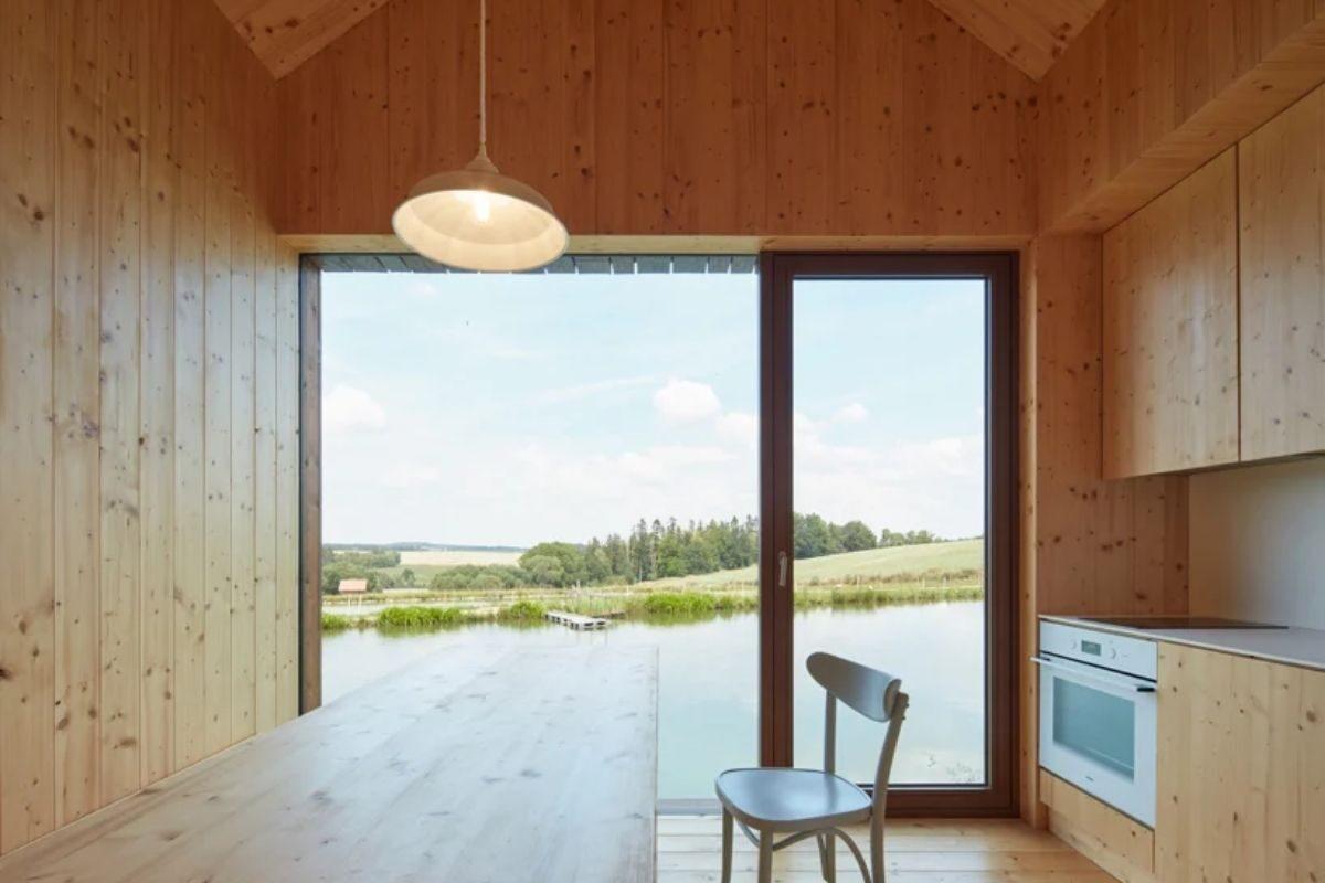 mini-casas de madeira foto 3