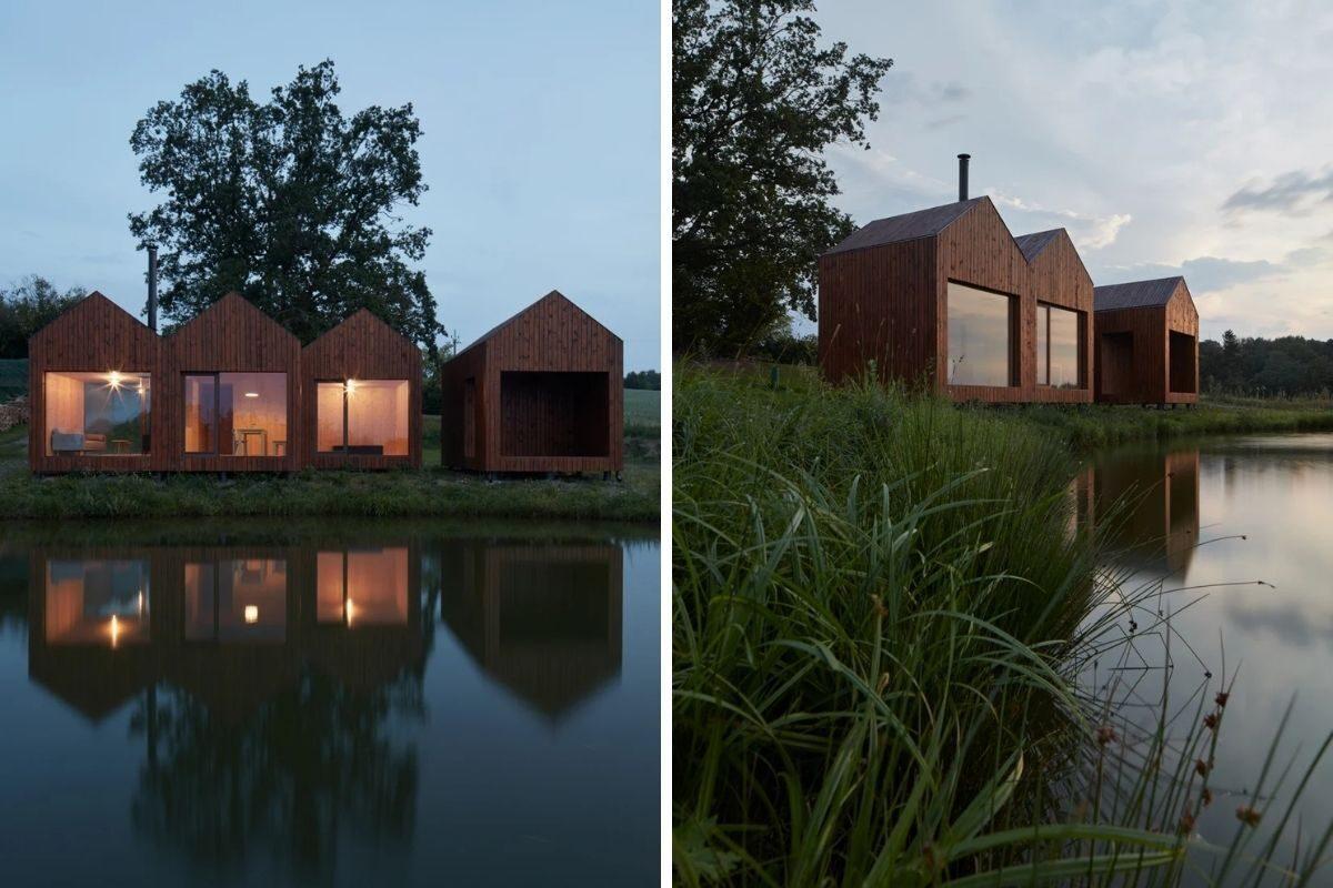 mini-casas de madeira foto 5