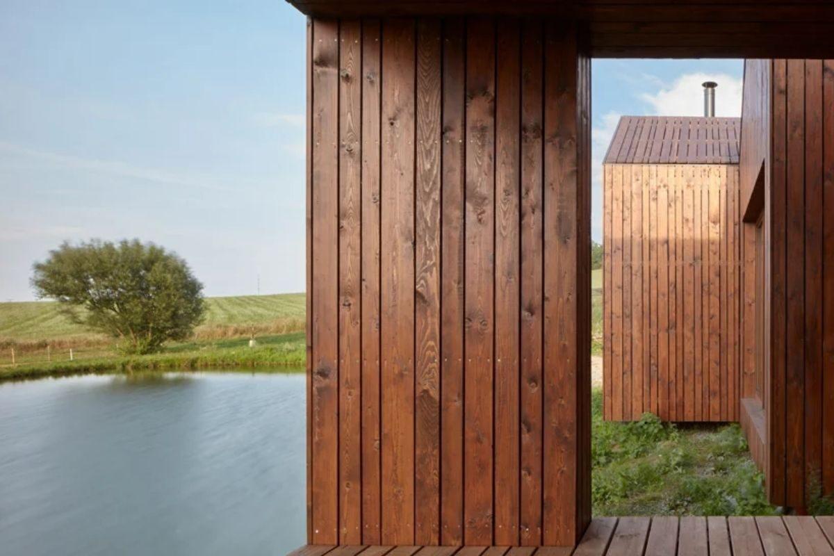 mini-casas de madeira foto 6