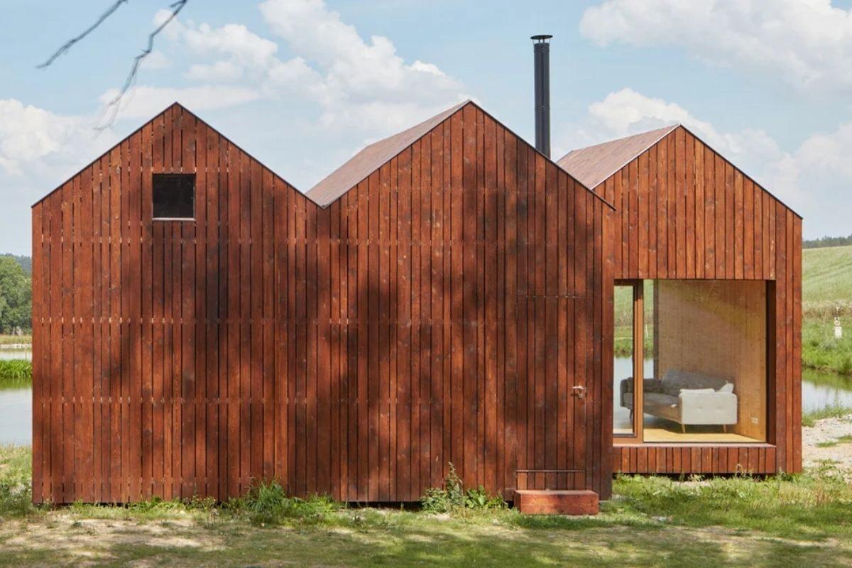 mini-casas de madeira foto 8