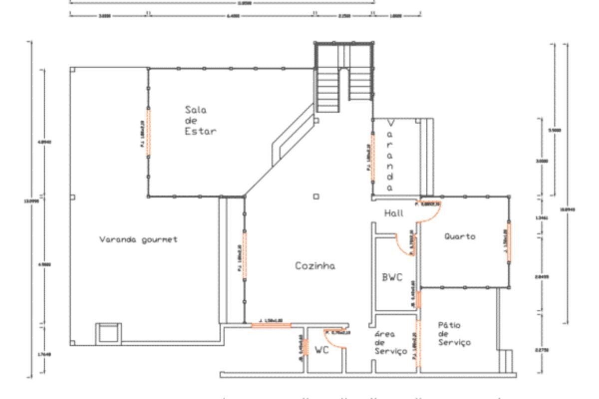 Projetos de casas de madeira 4 quartos 254 m2 2
