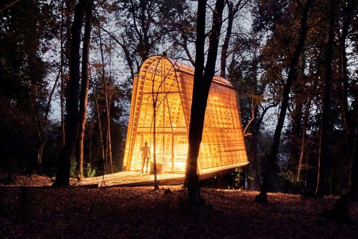 cabana de madeira translucida la invernada foto 1
