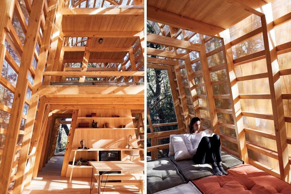 cabana de madeira translucida la invernada foto 4