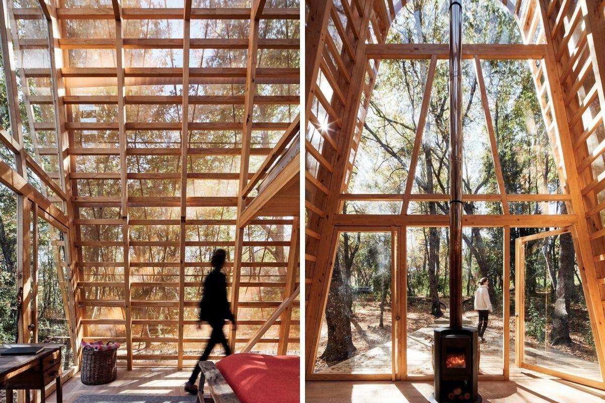 cabana de madeira translucida la invernada foto 5