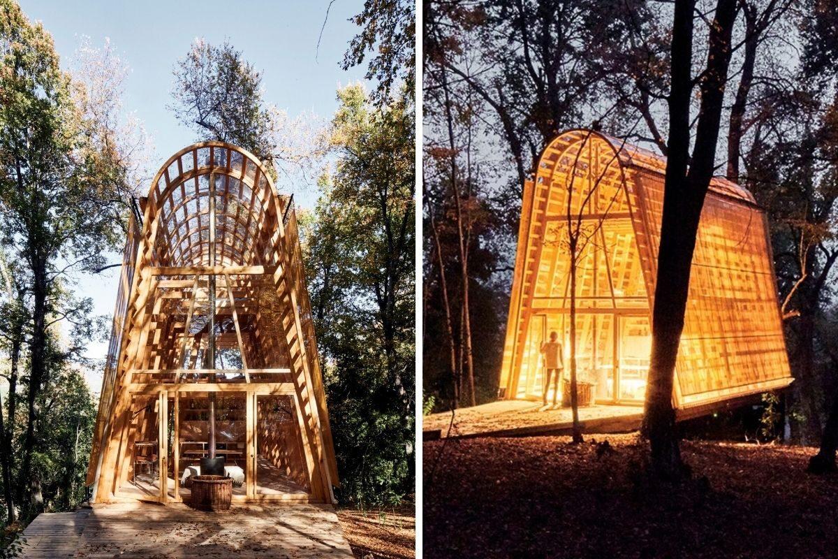 cabana de madeira translucida la invernada foto 6
