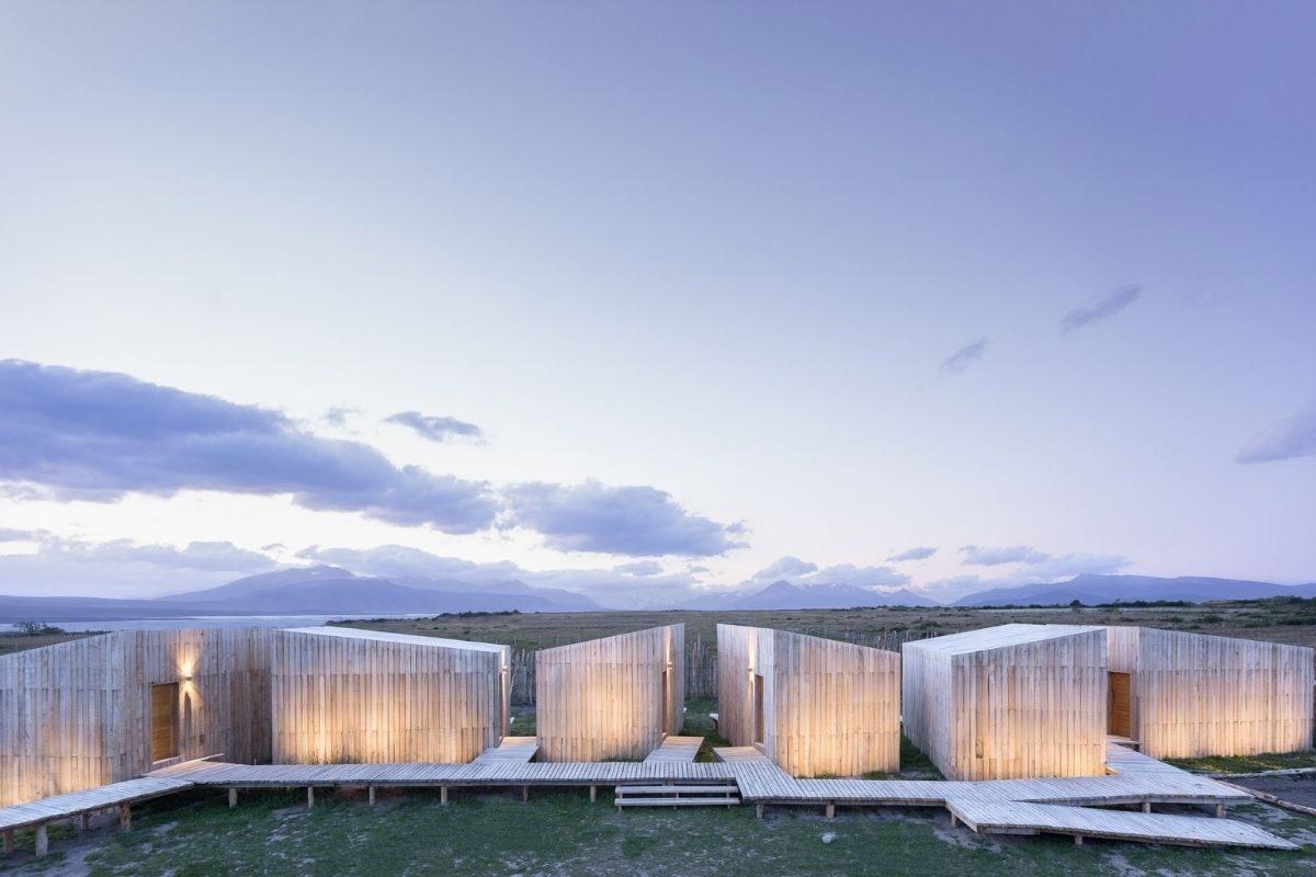 cabanas e chalés incríveis - aka patagonia hotel