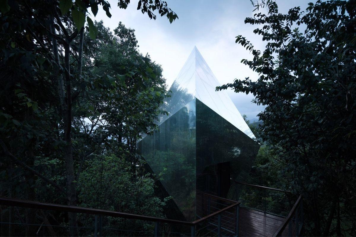 cabanas e chalés incríveis - mountain and cloud cabins