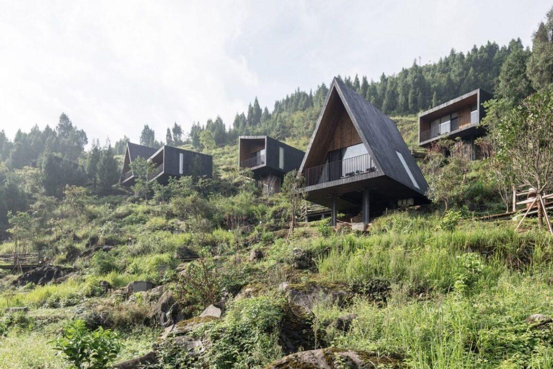 cabanas e chalés incríveis - the woodhouse hotel