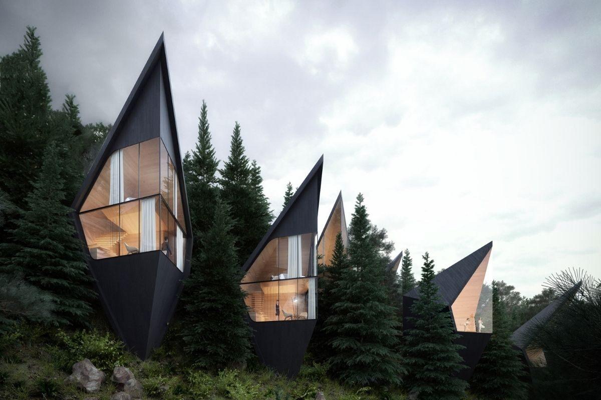 cabanas e chalés incríveis - treehouse