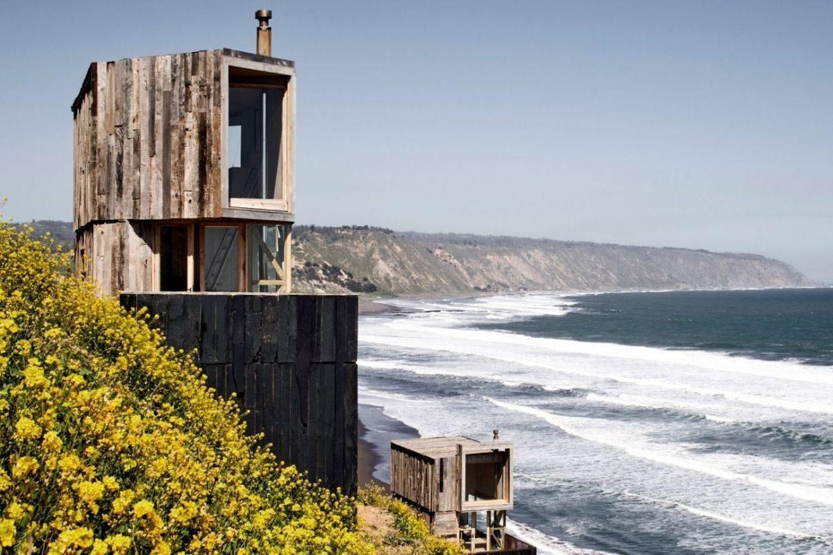 cabanas para apreciar o oceano foto 1