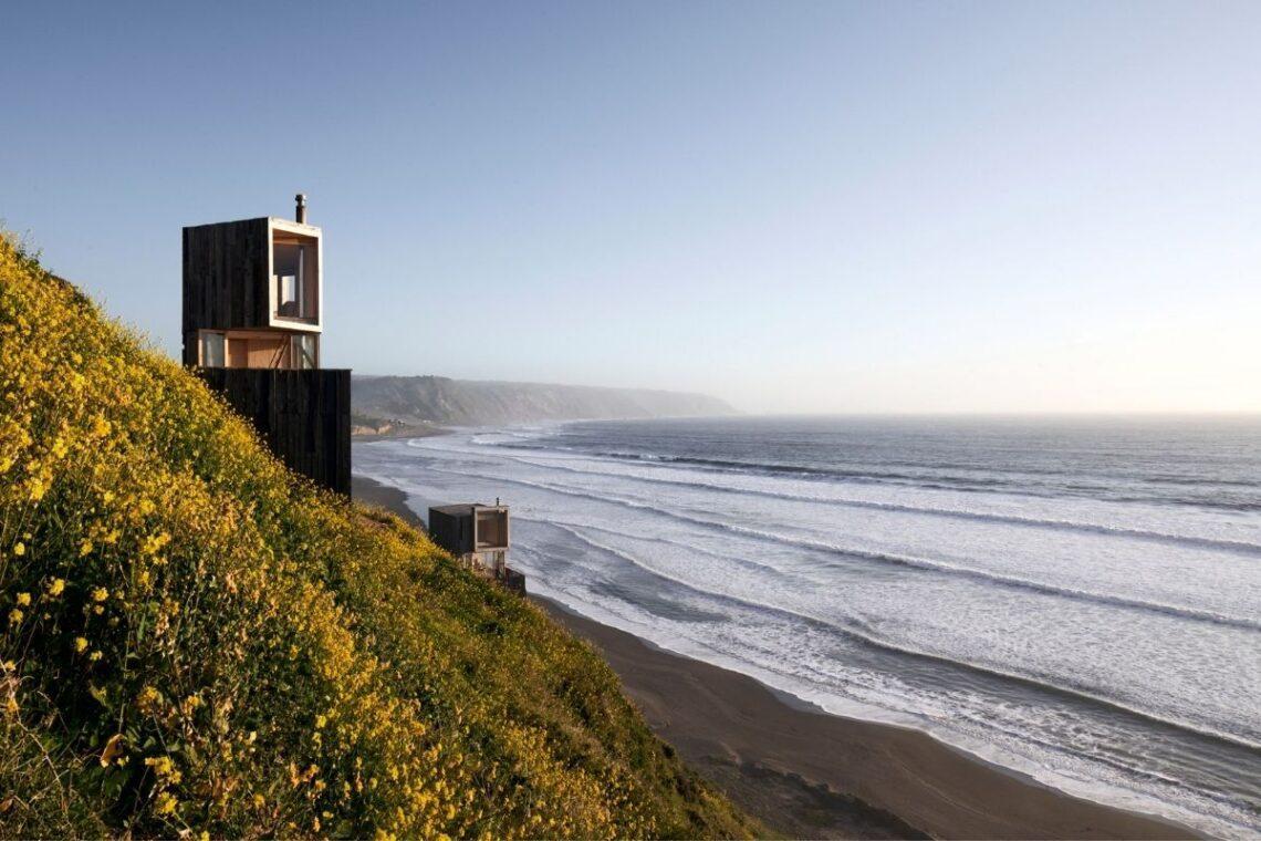 cabanas para apreciar o oceano foto 2