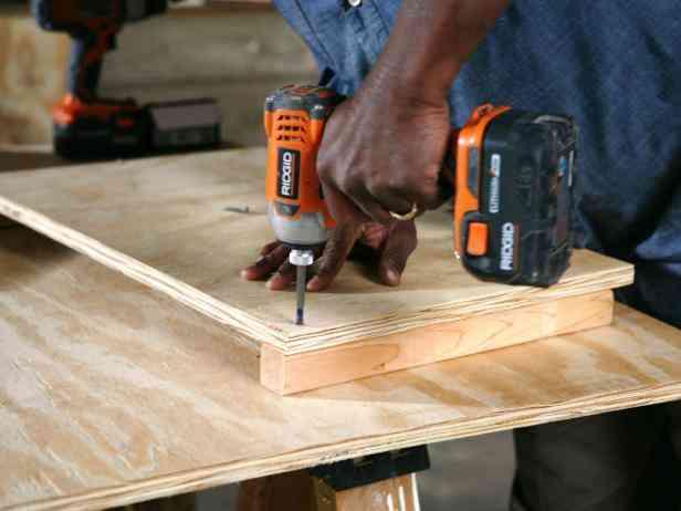 casa de cachorro de madeira passo 9