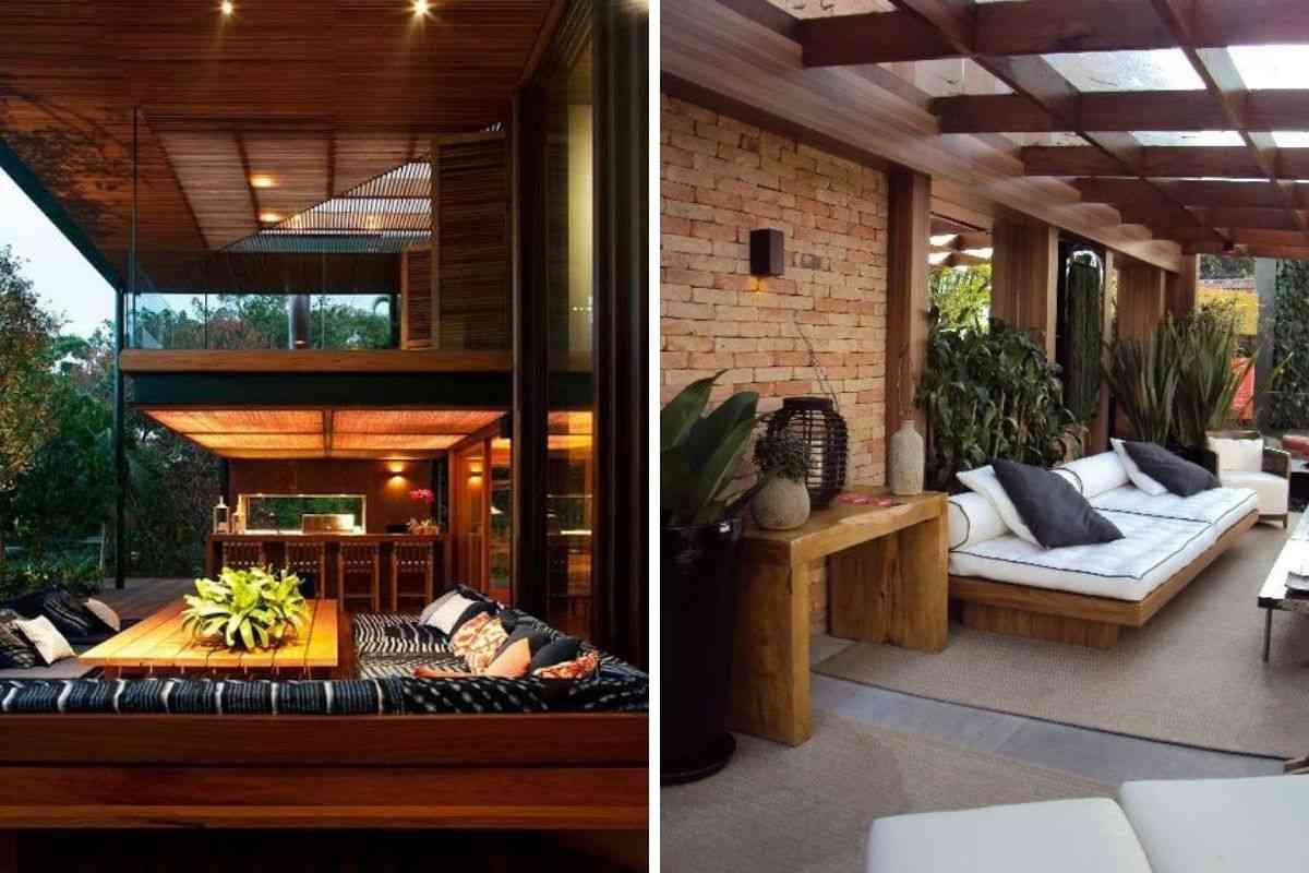 casa de madeira e vidro 19