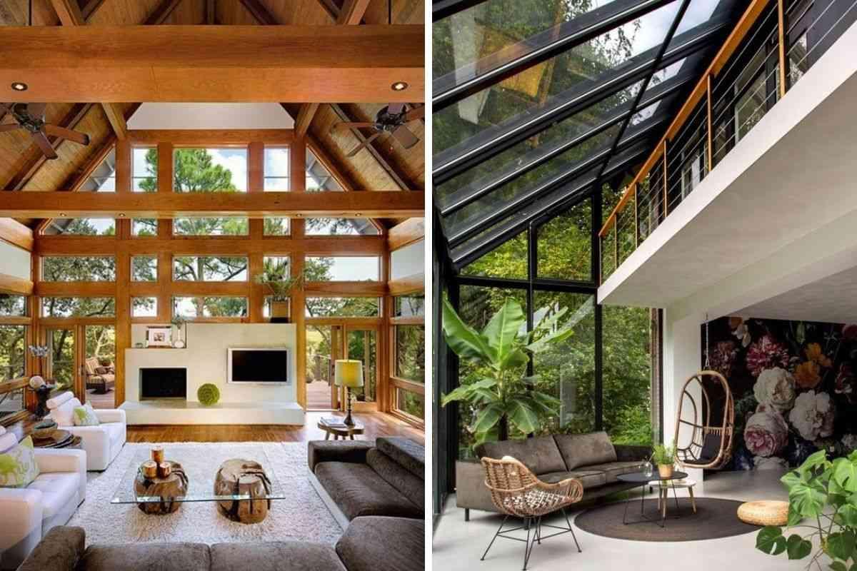 casa de madeira e vidro 21
