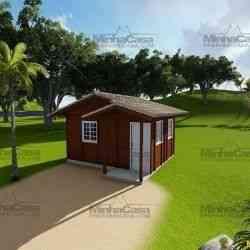 casa de madeira simples penha