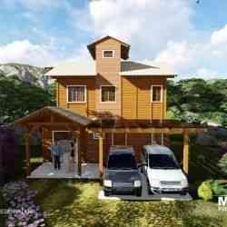 casa mista Modelo Rancho Queimado