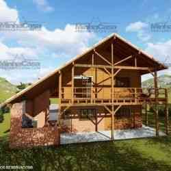 casa mista Modelo Mato Grosso
