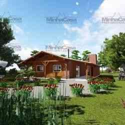casa mista Modelo Mato Grosso do Sul