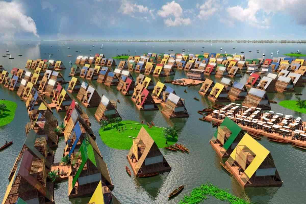 chalé flutuante makoko NLE foto 12