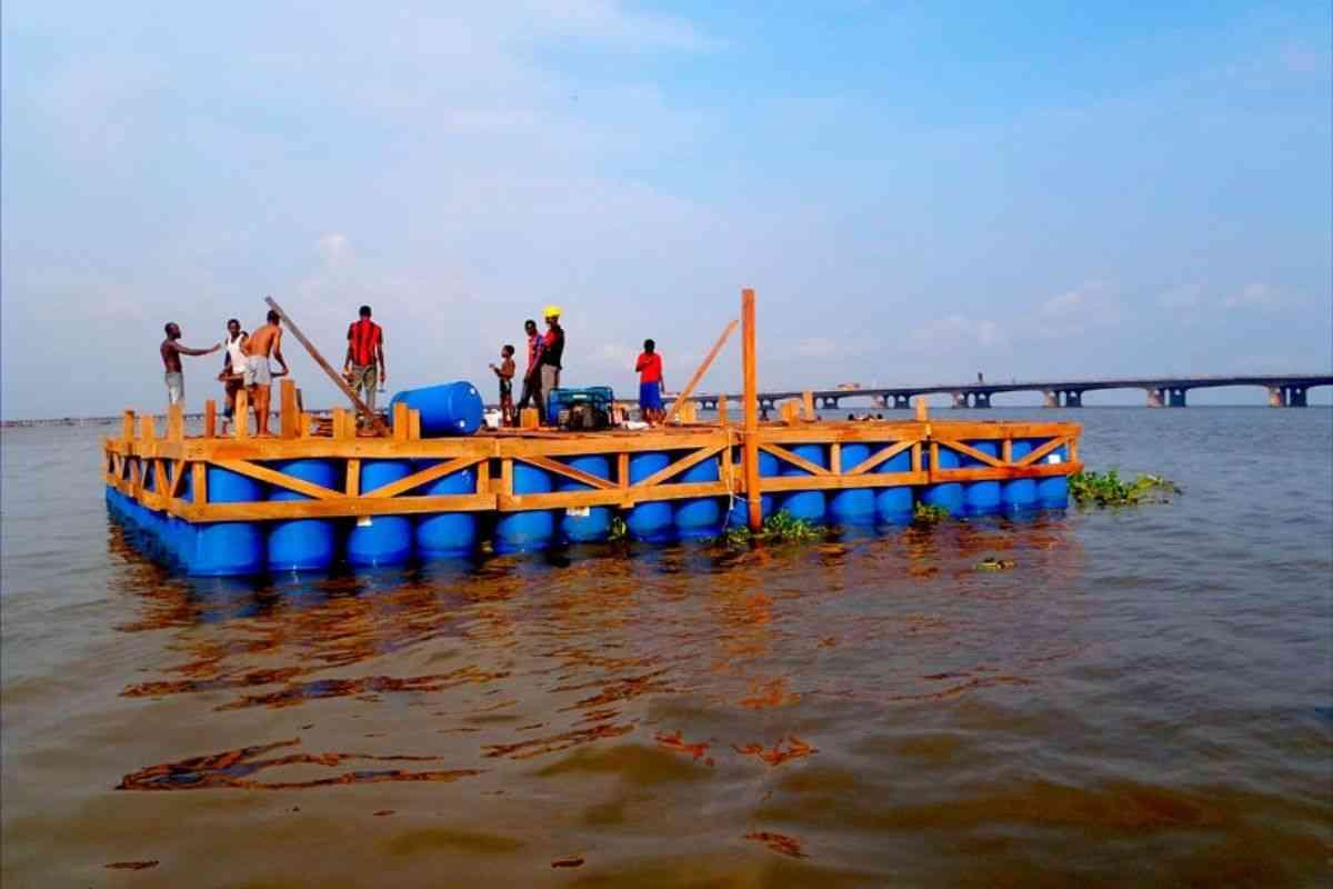 chalé flutuante makoko NLE foto 2