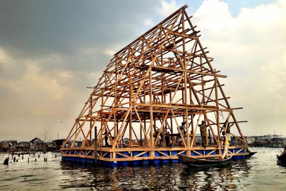 chalé flutuante makoko NLE foto 3