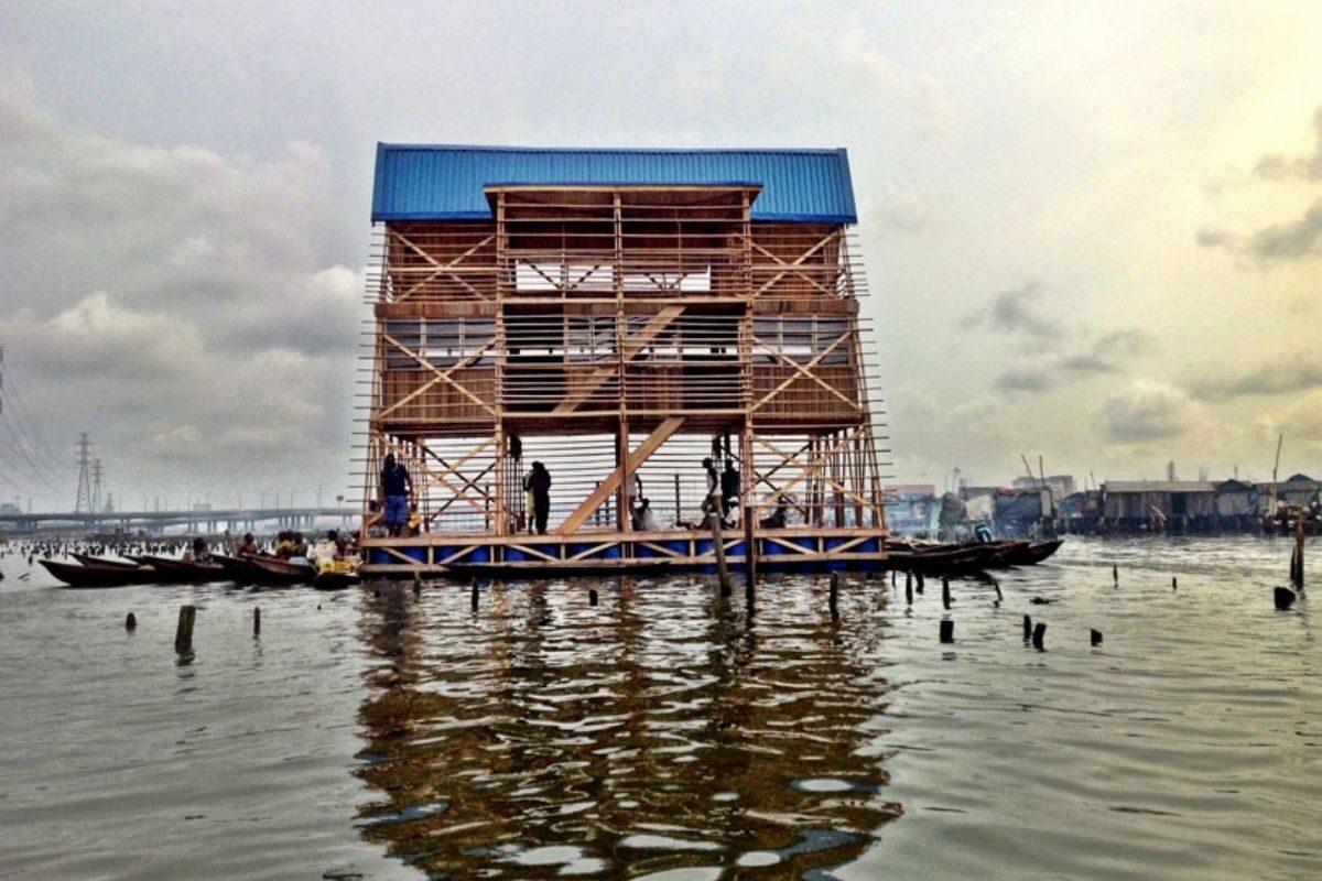 chalé flutuante makoko NLE foto 5