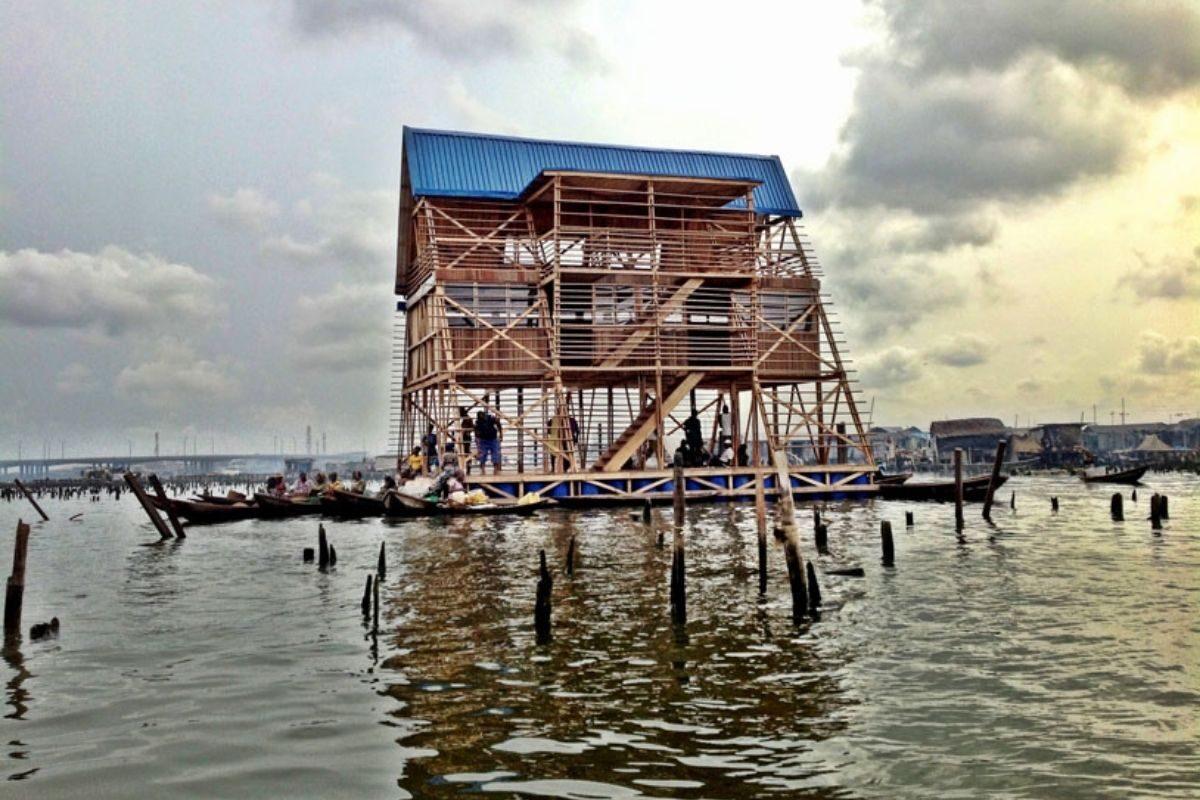 chalé flutuante makoko NLE foto 6