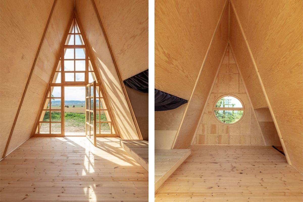 chalés e cabanas de madeira incríveis 2