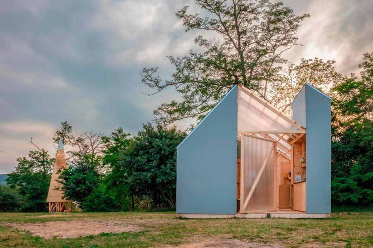 chalés e cabanas de madeira incríveis 3