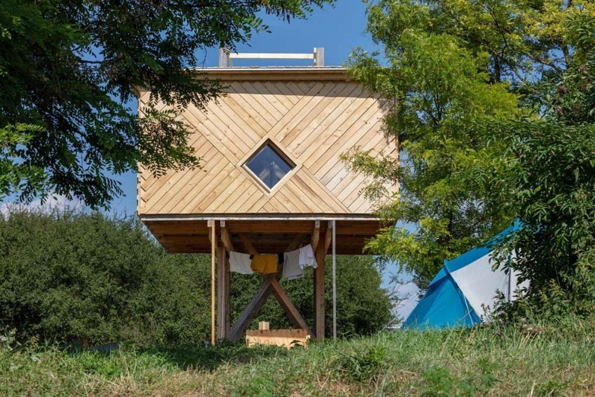 chalés e cabanas de madeira incríveis 8