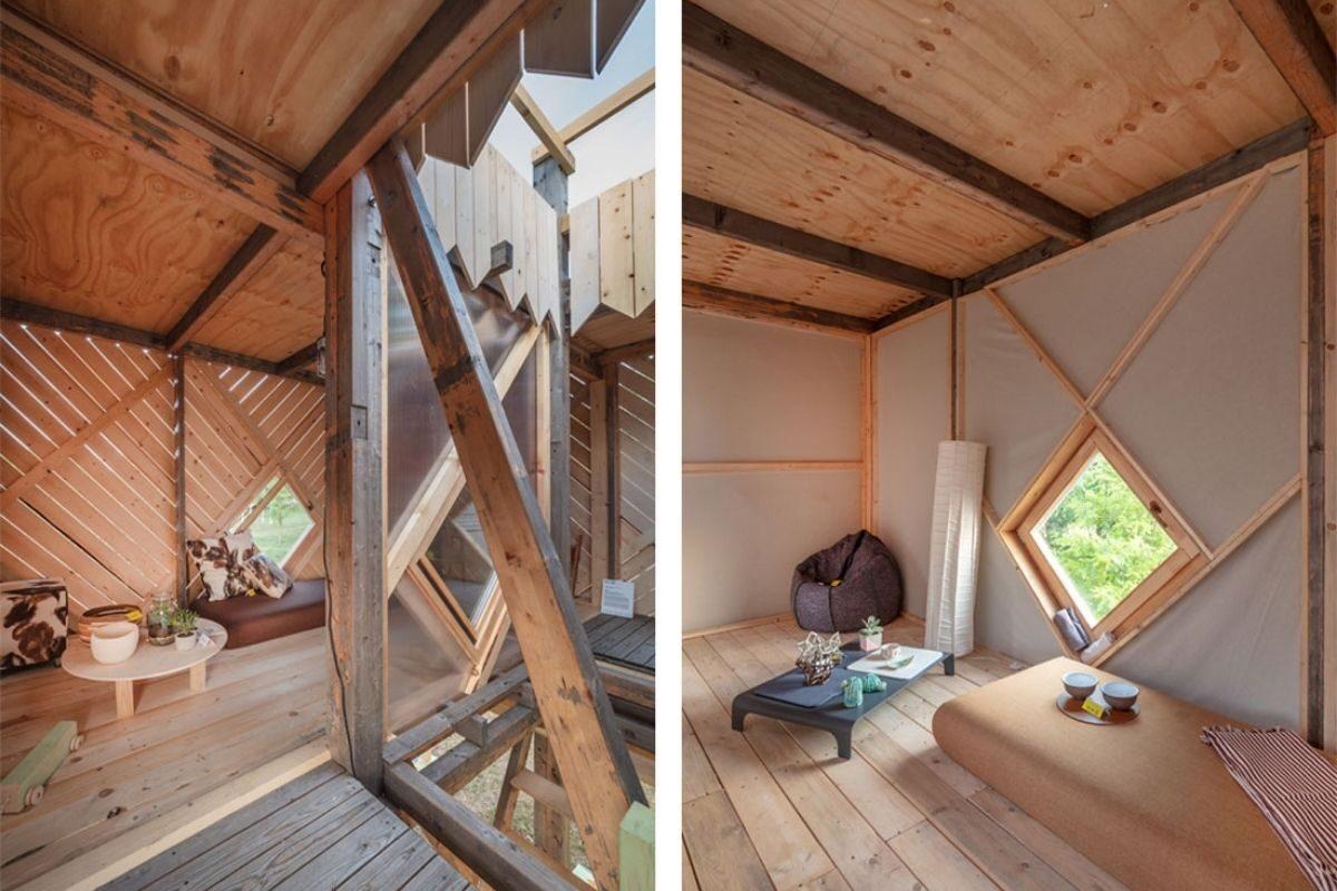 chalés e cabanas de madeira incríveis 9