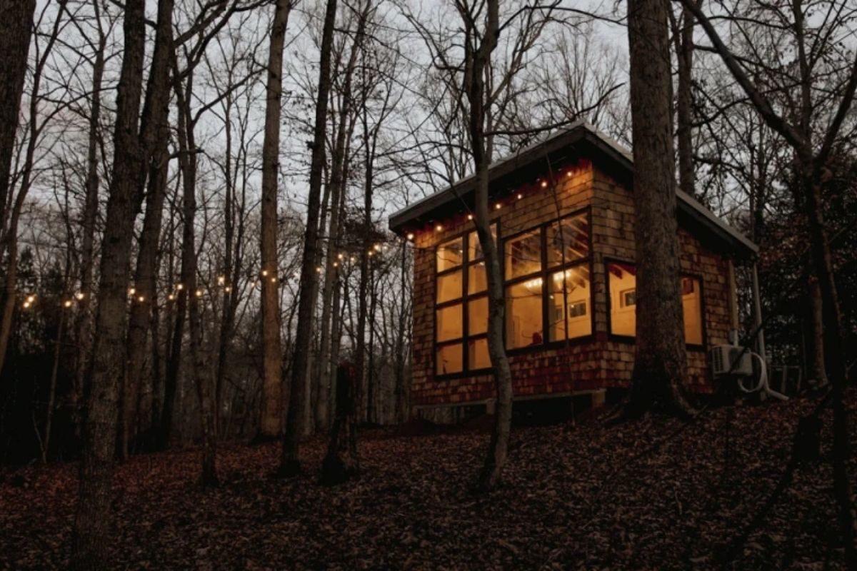 como construir uma cabana de madeira 1
