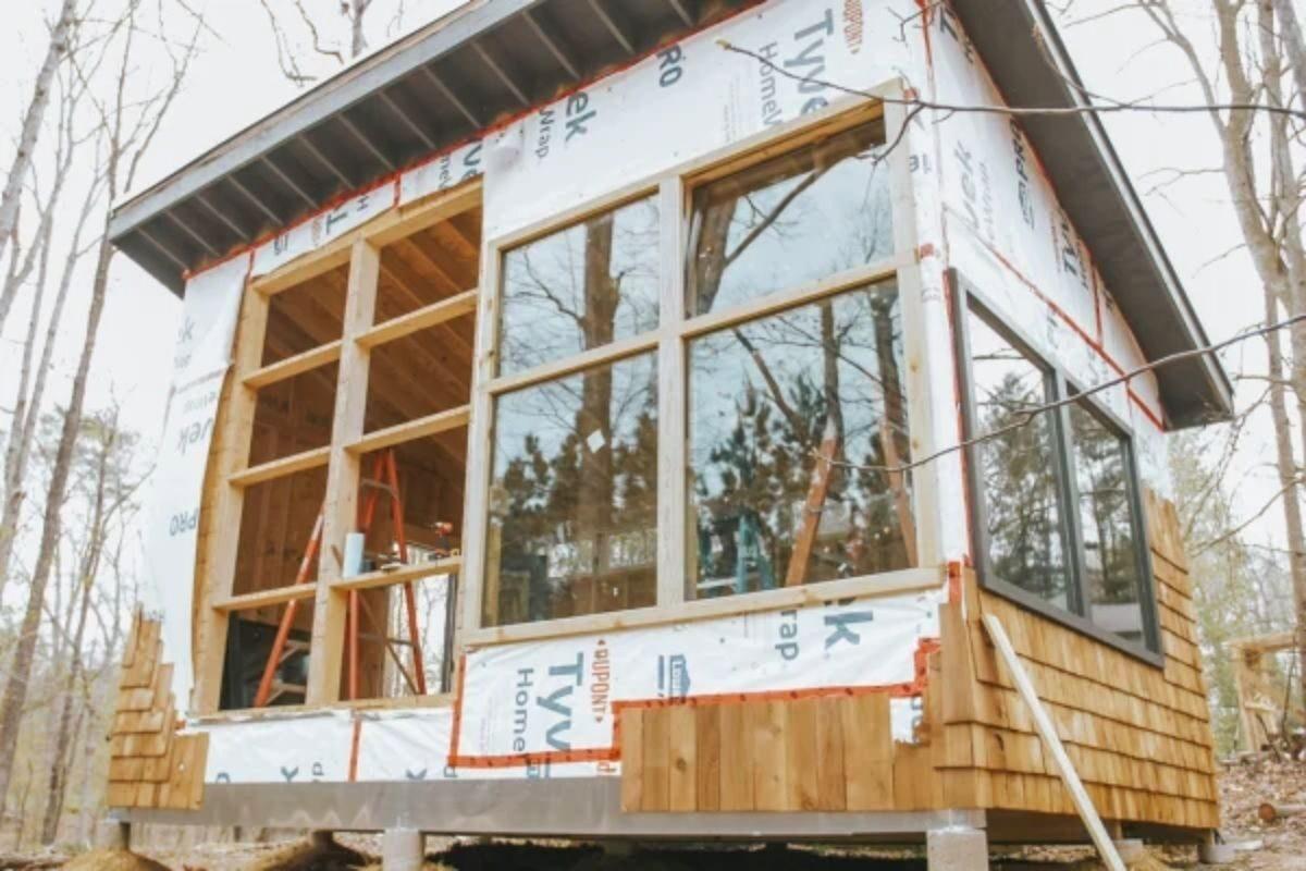 como construir uma cabana de madeira 2