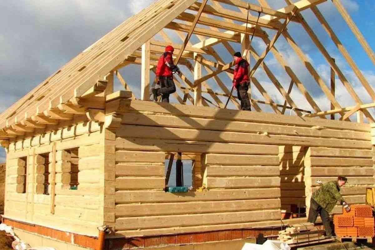 como construir uma casa de madeira